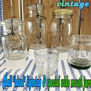 vintage Ball  ideal & special wide mouth jars